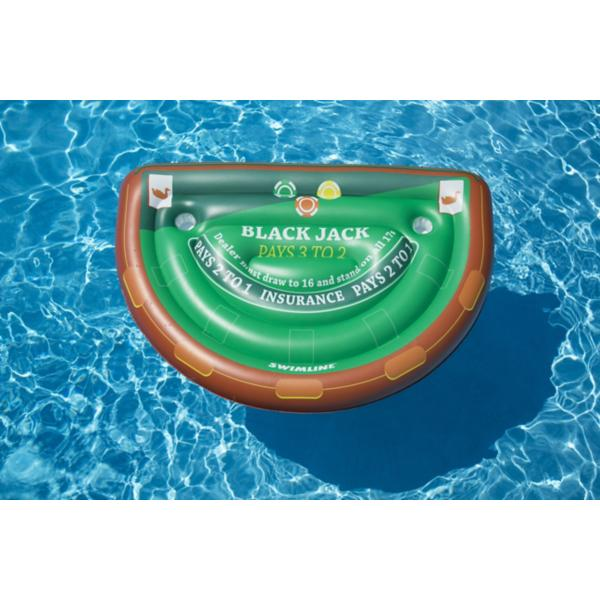 Swimline Black Jack Table Game Float