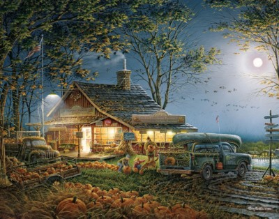 Autumn Traditions 1000 Piece Puzzle