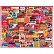 Gum Wrappers 1000 Piece Puzzle