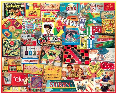 The Games We Played 1000 Piece Puzzle