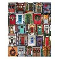 Holiday Doors 1000 Piece Puzzle