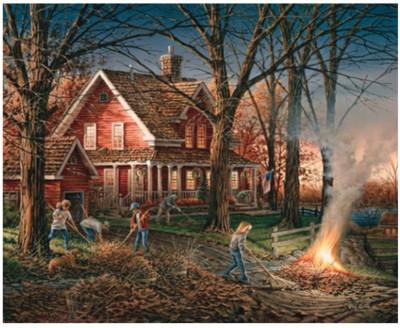 Autumn Evening 1000 Piece Puzzle