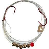 Quick Change Premium 2 Hook Spinner Snells 6 Pack