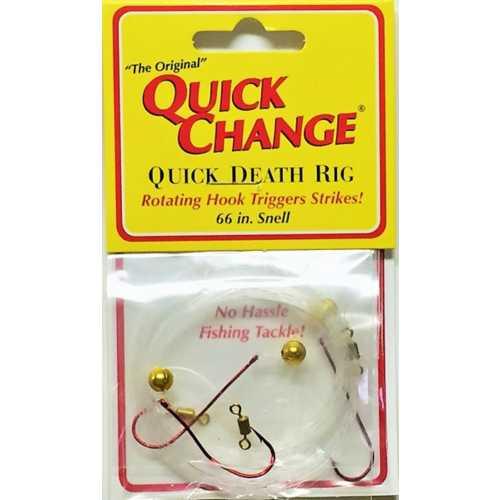 Quick Death Bead Rig- 3PK