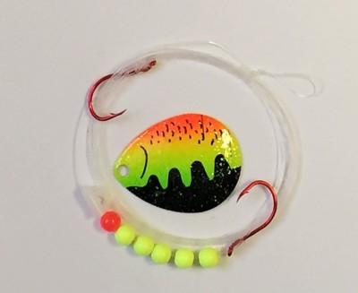 Quick Change Spinner harness- 2 Hook- Colo. #4