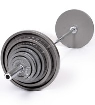 USA Sports Olympic 300-Pound Weight Set