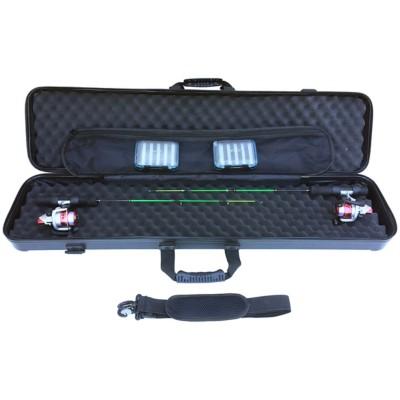 Trophy Angler Hybrid Hard-Sided ice Rod Case