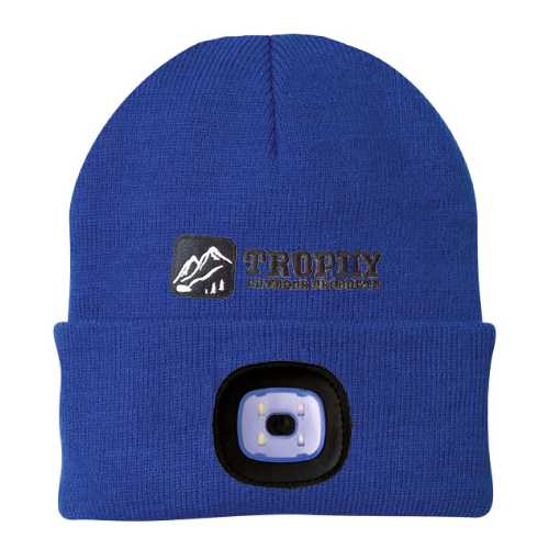 Trophy Angler USB Rechargeable LED Hat