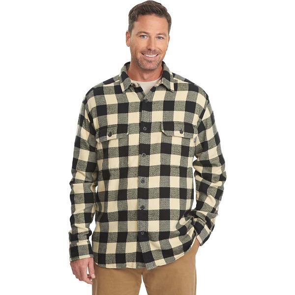 8606fd90a Men's Woolrich Oxbow Bend Plaid Flannel Shirt | SCHEELS.com
