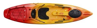 Perception Pescador 10.0 Recreational Sit-On-Top Kayak