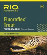 RIO Knotless Fluoroflex Trout Fluorocarbon Tapered Leader