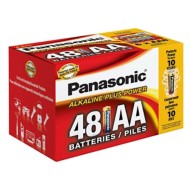 Panasonic 48 Pack AA Batteries