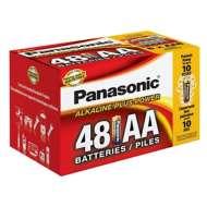 Panasonic 48 Pack AA Batteries