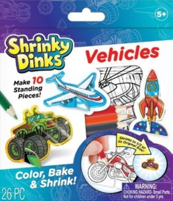 ALEX Shrinky Dinks Minis Vehicles