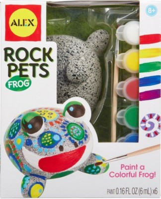 ALEX Toys CC-9011094-WW Craft Rock Pets Frog