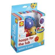 ALEX Toys Bath Hoops in the Tub