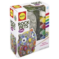 ALEX Toys Craft Rock Pets Owl