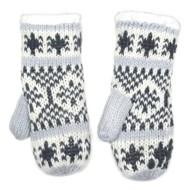 Women's Lauer Gloves Jacquard Berber Mittens