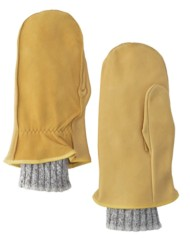 Lauer Gloves Lined Cowhide Chopper Mittens