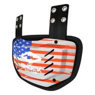 Youth Shock Doctor Showtime USA Flag Football Back Plate