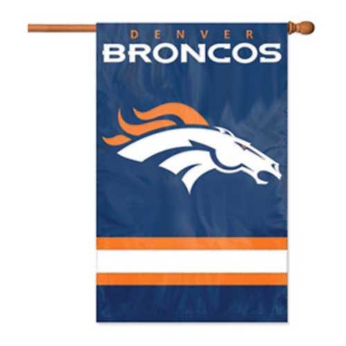 Party Animal Denver Broncos Premium Banner Flag