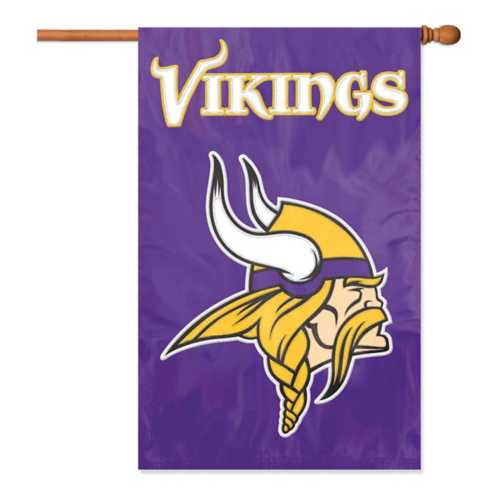 Party Animal Minnesota Vikings Premium Banner Flag