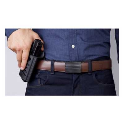 KORE X2 Buckle Leather Gun Belt