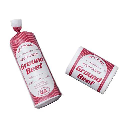 LEM Ground Beef Bags 25 Pack