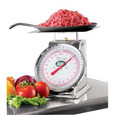 LEM 44 Lb Stainless Steel Scale