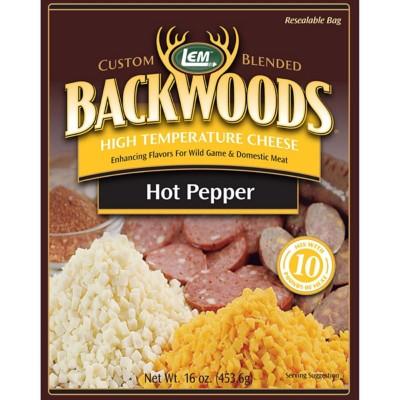 LEM Backwoods High Temperature Hot Pepper Cheese