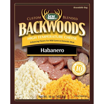 LEM Backwoods High Temperature Habanero Cheese