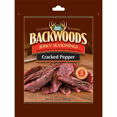 LEM 5lb Backwoods Cracked Pepper Jerky Seasoning' data-lgimg='{