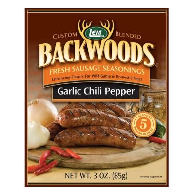 LEM Backwoods Garlic Chili Pepper Fresh Sausage Seasoning