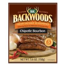 LEM Backwoods Chipotle Bourbon Fresh Sausage Seasoning