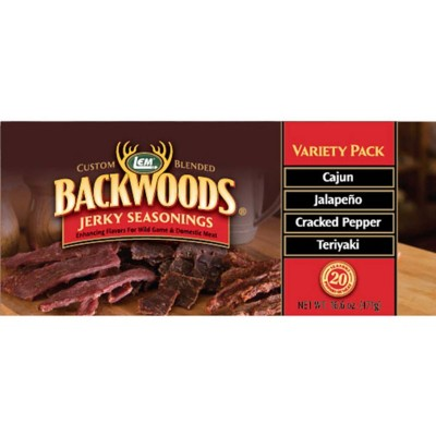 LEM Backwoods Jerky Seasoning Variety Pack #2