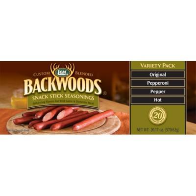 LEM 20lb Backwoods Snack Stick Seasoning Variety Pack
