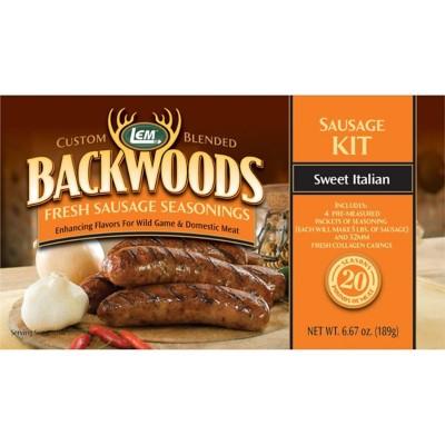LEM Backwoods Sweet Italian Fresh Sausage Seasoning Kit
