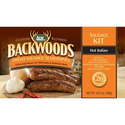 LEM Backwoods Hot Italian Fresh Sausage Seasoning Kit