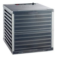 LEM Mighty Bite 10-Tray Double Door Countertop Dehydrator