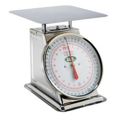 LEM 44lb. Stainless Steel Scale