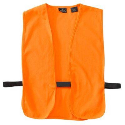 Breaux Safety  Blaze Orange Hunting Vest' data-lgimg='{