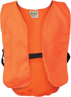 Youth Breaux Blaze Orange Poly Safety Vest