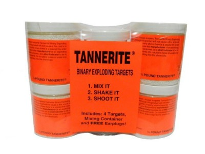 Tannerite Exploding Targets 4 Pack of 1/2 Pounders
