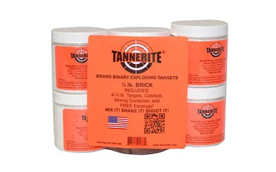 Tannerite 4 Pack of 1/4 Pound Exploding Targets