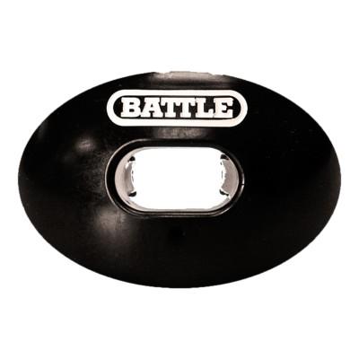 Adult Battle Black Oxygen White Logo Mouthguard' data-lgimg='{