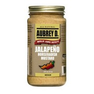 Aubrey D Rebel Jalapeno Horseradish Mustard