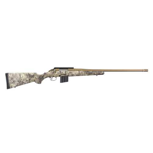 Ruger American with Go Wild Camo Rifle