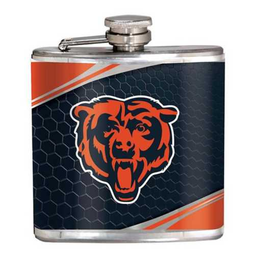 Great American Products Chicago Bears Steel Flask