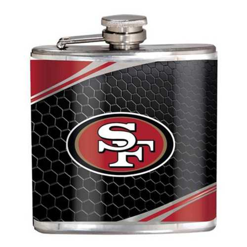 Great American Products San Francisco 49ers Steel Flask