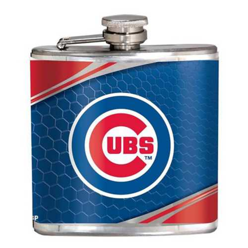 Great American Products Chicago Cubs Steel Flask